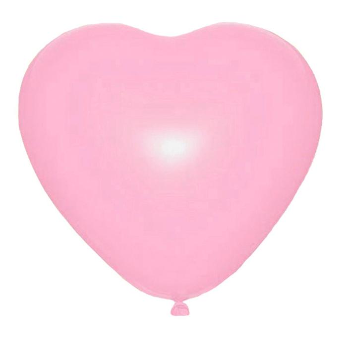"""Шар латексный 36"""" """"Сердце"""", 1 шт., цвет розовый"""