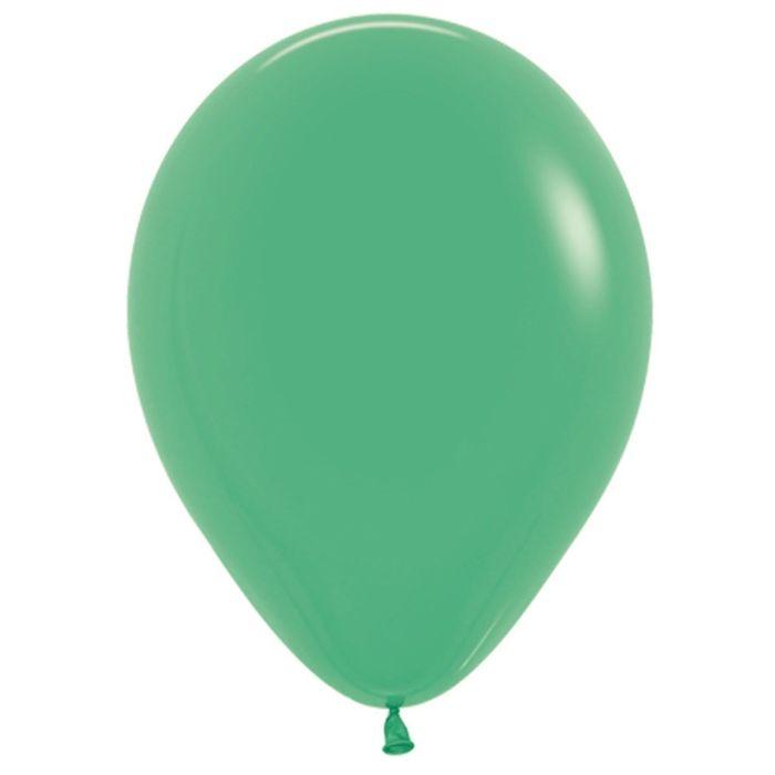 """Шар латексный 12"""", пастель, набор 100 шт., цвет зелёный 030"""