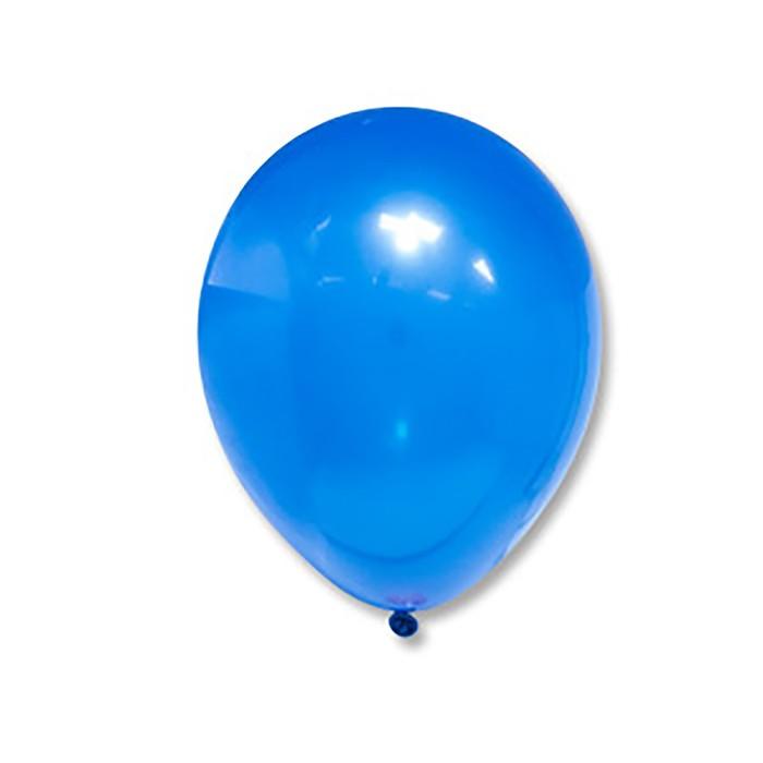 """Шар латексный 10"""", пастель, набор 500 шт., цвет голубой"""