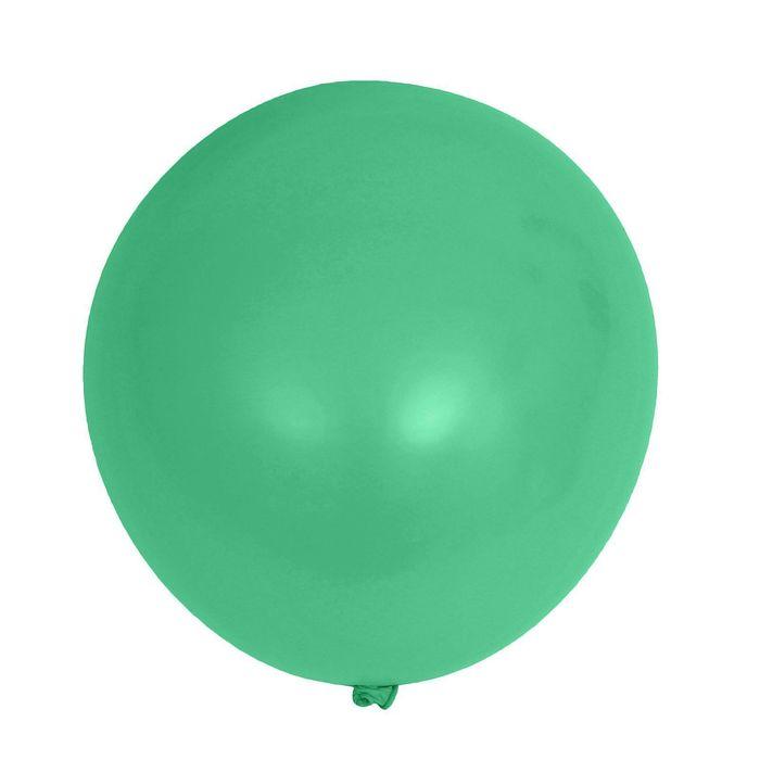 """Шар латексный 12"""", пастель, набор 50 шт., цвет зелёный"""