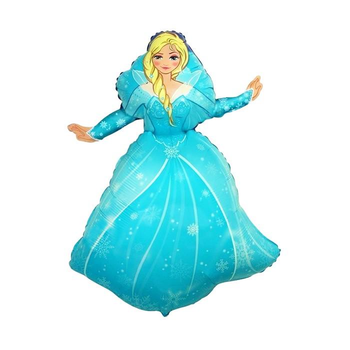 """Шар фольгированный 40"""" """"Ледяная принцесса"""""""