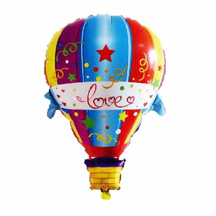 """Шар фольгированный """"Воздушный шар любовь"""" 35"""""""