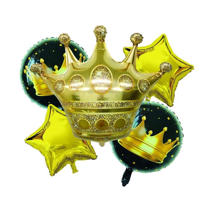 """Букет из шаров """"Король вечеринки"""", фольга, набор из 5 шт."""