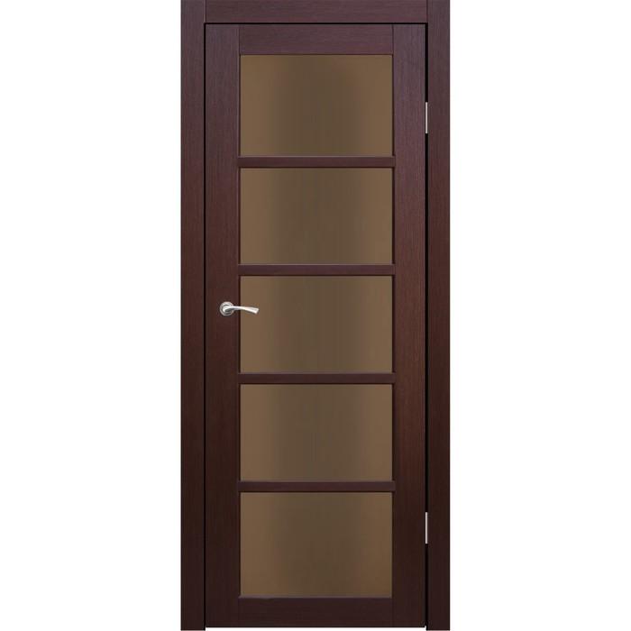 Комплект двери Торонто Каштан бронза сатин 2000х600