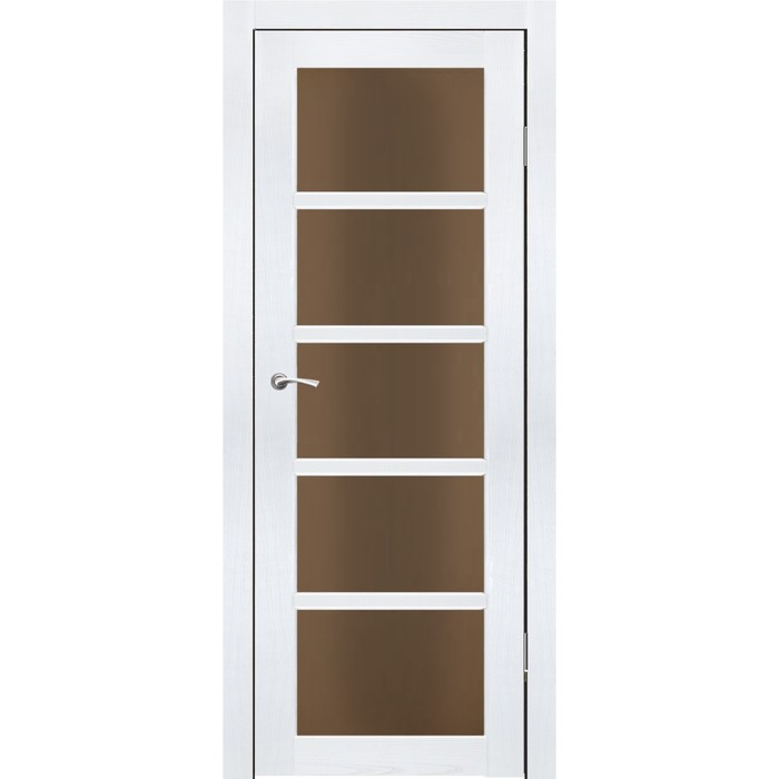 Комплект двери Торонто Ясень белый бронза сатин 2000х700