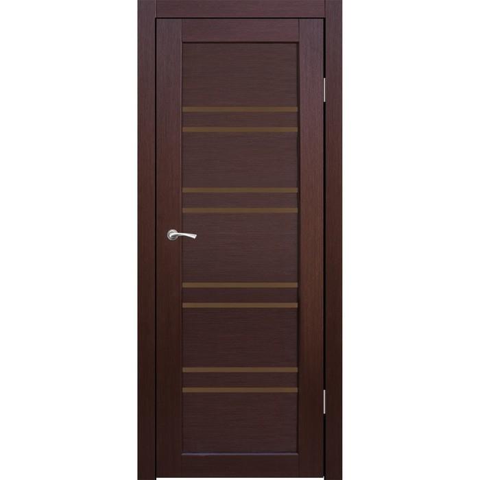 Комплект двери Окинава Каштан, бронза сатин 2000х600
