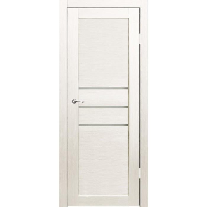 Комплект двери Мураками Дуб перламутр, белый лакобель 2000х800