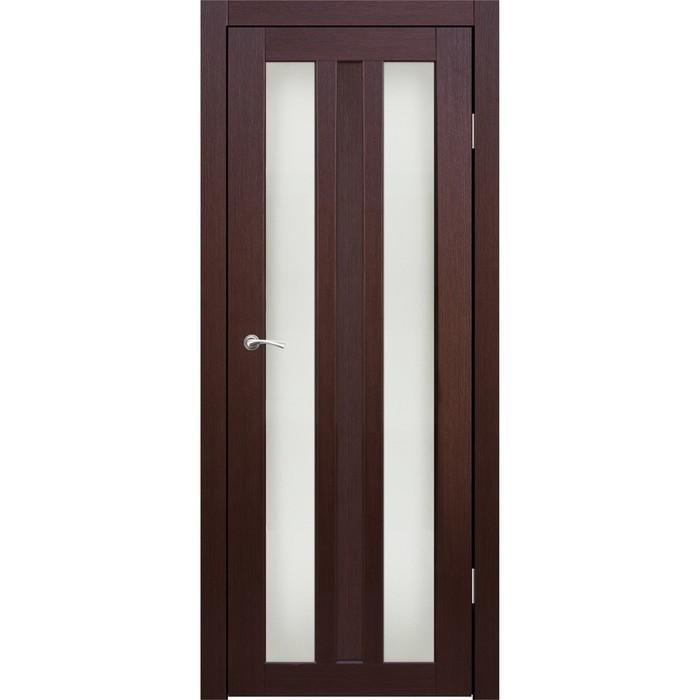 """Дверное полотно """"Монреаль 2"""" Каштан, сатин 2000x800"""