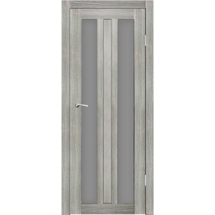 """Дверное полотно """"Монреаль 2"""" Джерси, серый сатин 2000x800"""