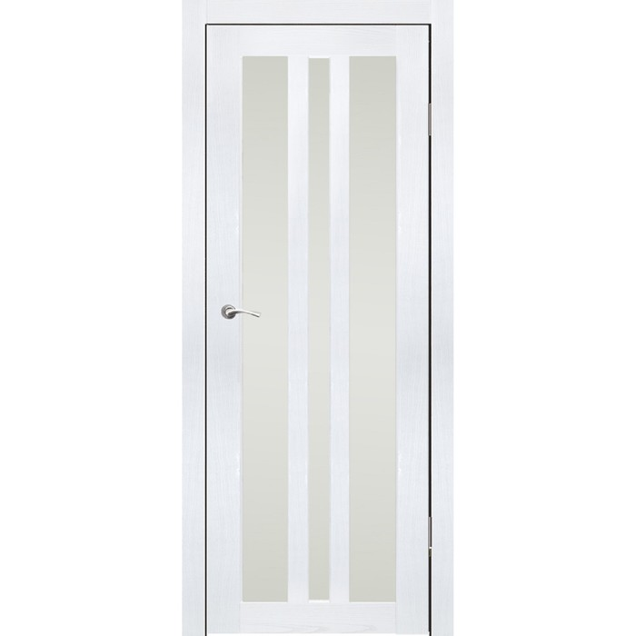 """Дверное полотно """"Монреаль 3"""" Ясень белый, сатин 2000x900"""