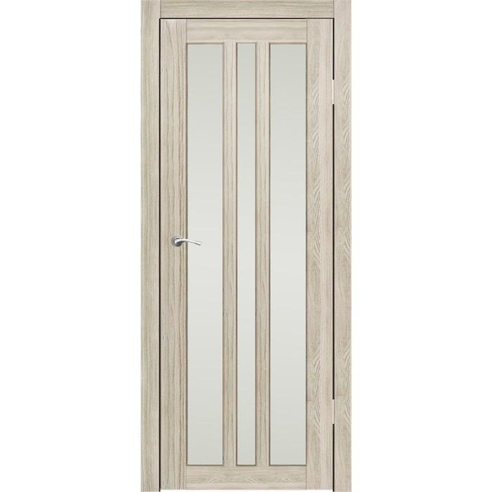 """Дверное полотно """"Монреаль 3"""" Ясень перламутр, сатин 2000x600"""