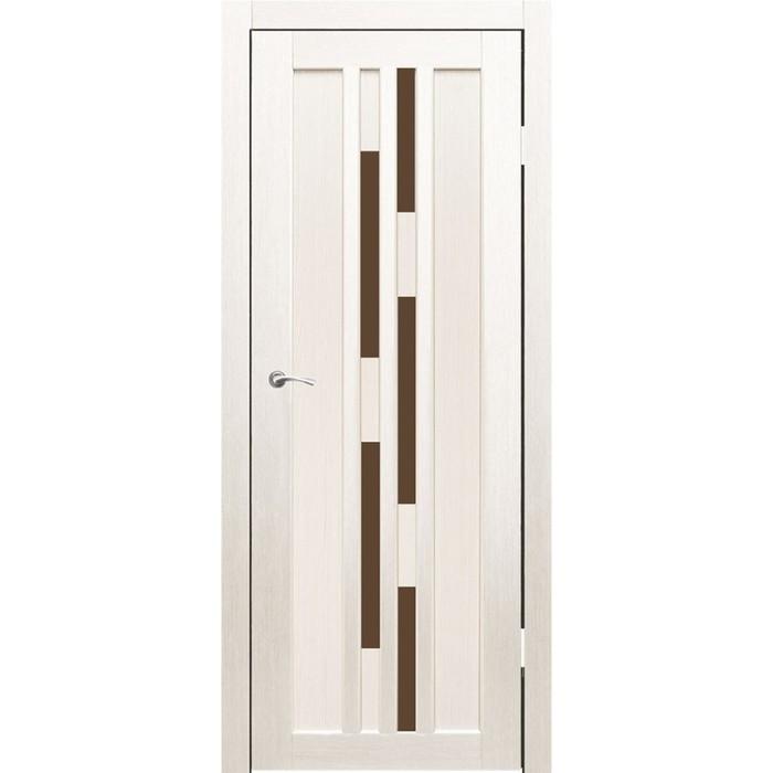 """Дверное полотно """"Оттава"""" Дуб перламутр, бронза сатин 2000x700"""