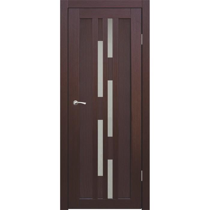 """Дверное полотно """"Оттава"""" Каштан, сатин 2000x900"""