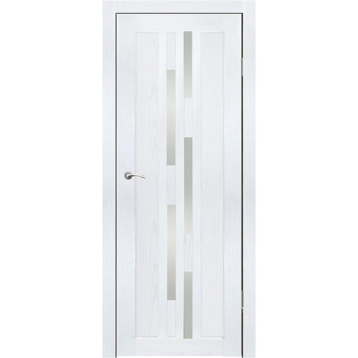 """Дверное полотно """"Оттава"""" Ясень белый, сатин 2000x600"""