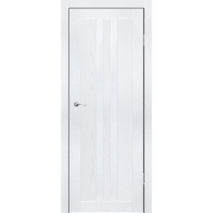 """Дверное полотно """"Монреаль"""" Ясень белый 2000x700"""