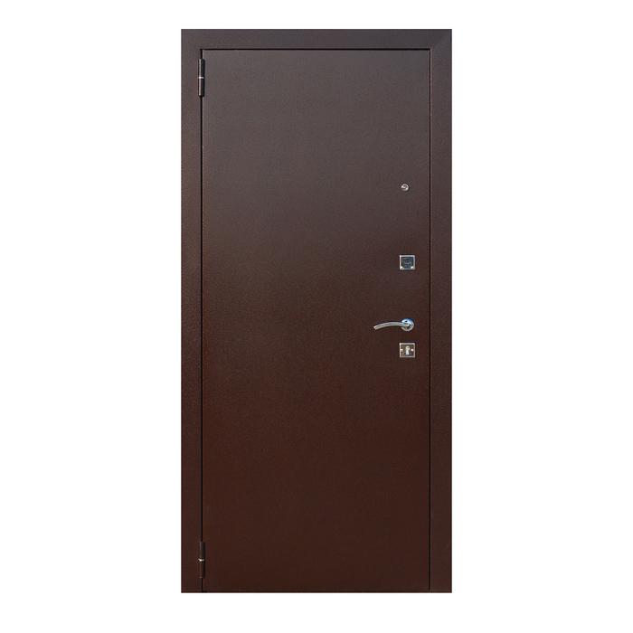 Дверь входная Царское Зеркало MAXI Венге 2050x860 (правая)
