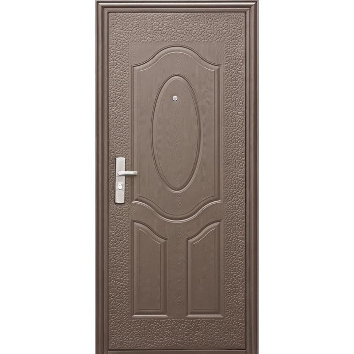Дверь металлическая E40M 2050х860 (левая)