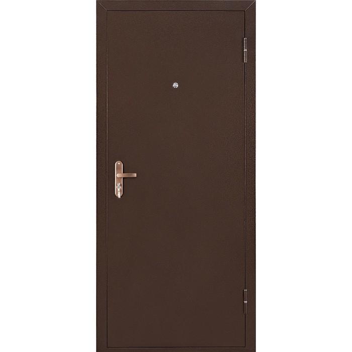 Дверь входная СПЕЦ BMD итальянский орех/антик медь 2050х850 (левая)
