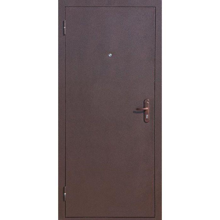 Дверь входная Стройгост 5-1 Металл-Металл 2060х880 (правая)
