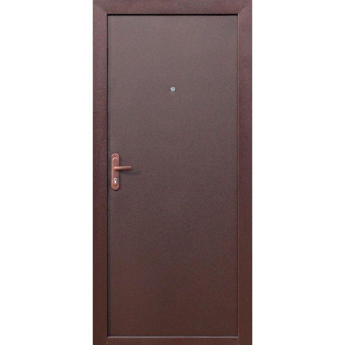 Дверь входная Стройгост 5-1 Металл-Металл (внутреннее открывание) 2060х880 (левая)