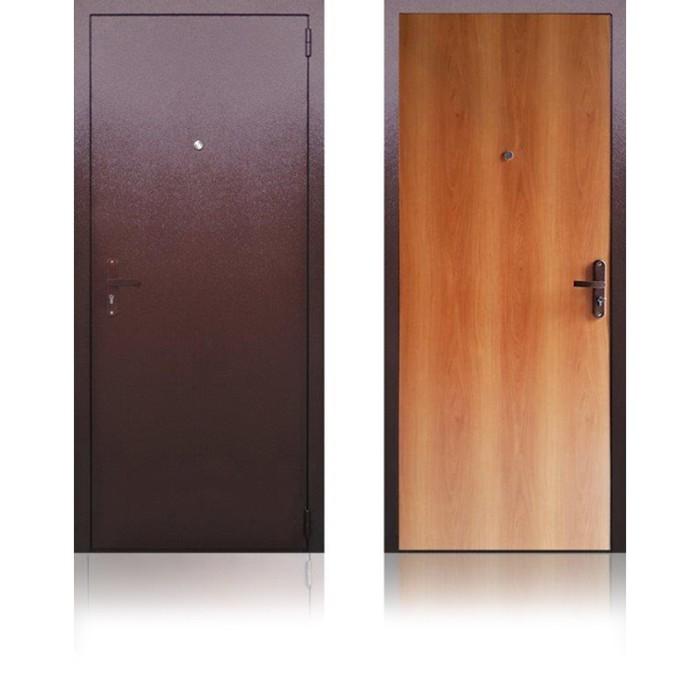 Сейф-дверь «Берлога ЭК2», 870 × 2050 мм, левая, цвет миланский орех