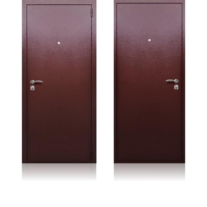 Сейф-дверь «Берлога СБ-3», 970 × 2050 мм, левая, цвет медный антик