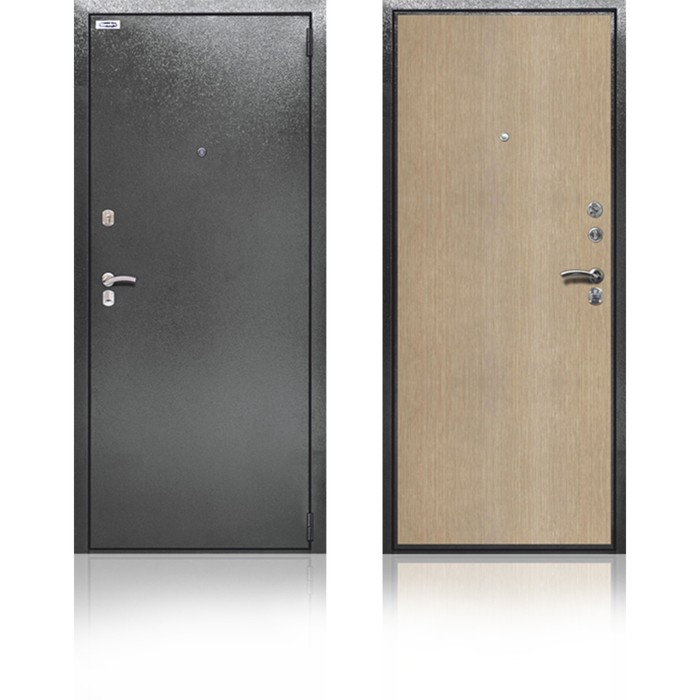 Сейф-дверь «Берлога СК-2», 970 × 2050 мм, правая, цвет штрих лак