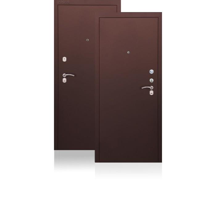 Сейф-дверь ARGUS «ДА-9», 970 × 2050 мм, правая, цвет антик медь