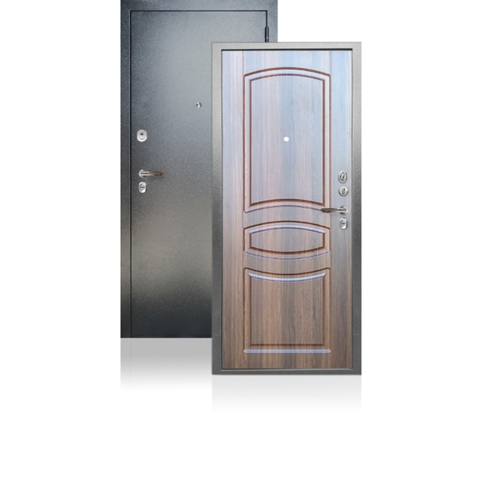 Входная дверь ARGUS «ДА-61», 870 × 2050 мм, правая, цвет коньяк статус