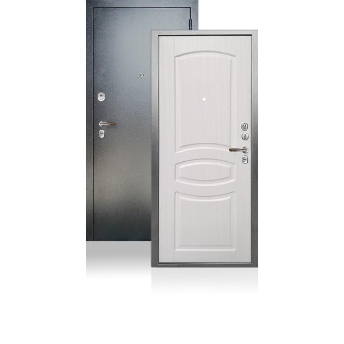 Входная дверь ARGUS «ДА-61», 980 × 2100 мм, левая, цвет белый ясень