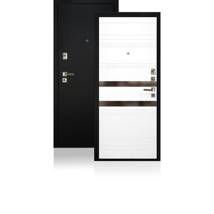 Сейф-дверь ARGUS «ДА-92 NEW Иден», 970 × 2050 мм, левая, тёмное зеркало «Иден»
