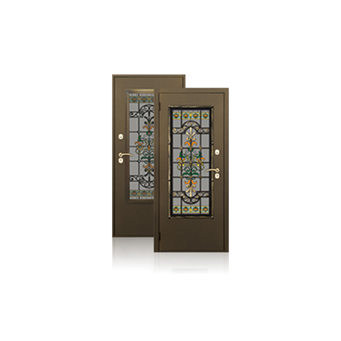 Сейф-дверь ARGUS «Комплимент», 970 × 2050 мм, левая, цвет антик золото