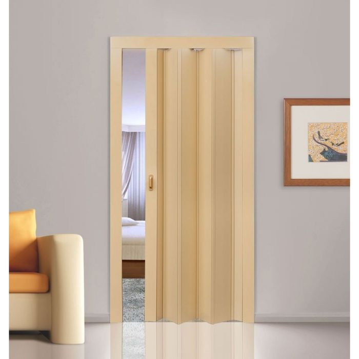 Дверь раздвижная «Стиль», ПВХ, дуб, 2020 × 840 мм