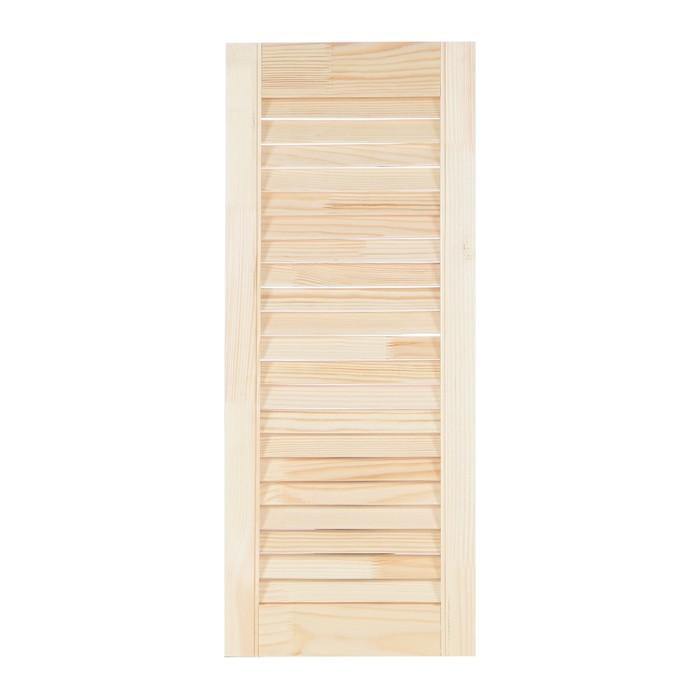 """Двери жалюзийные из ХВОИ, сорт А, 71,5×29,4×2 см, """"Лесопилка 177"""""""