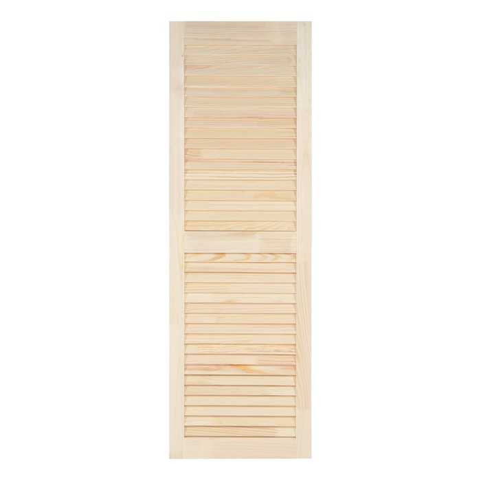 """Двери жалюзийные из ХВОИ, сорт А, 120,5×39,4×2 см, """"Лесопилка 177"""""""