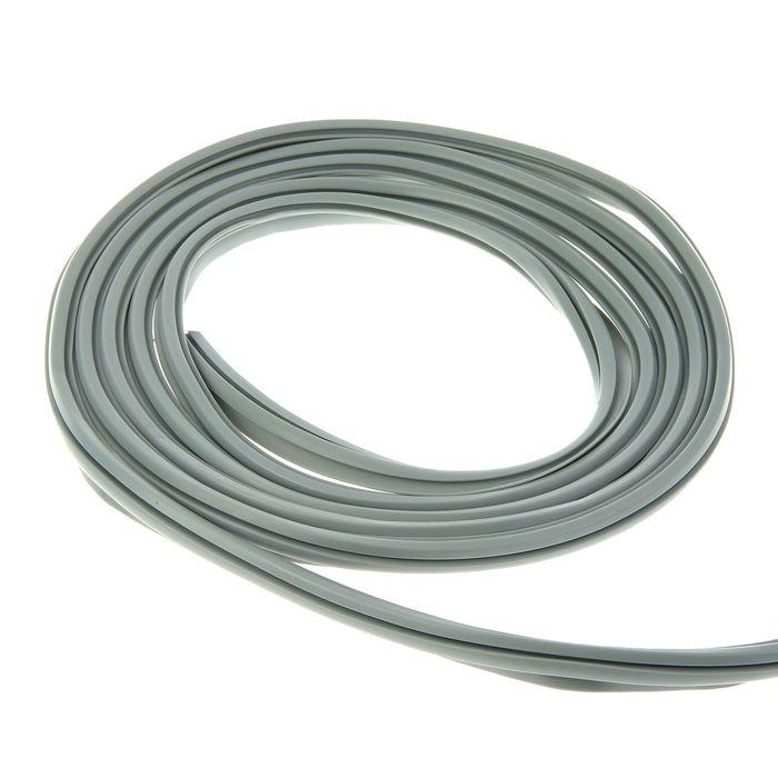 Уплотнитель универсальный для пластиковых окон, L=5 м, серый