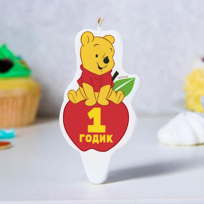 Свеча в торт, Медвежонок Винни