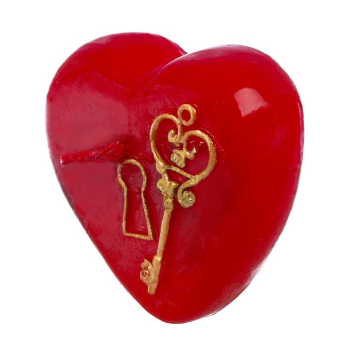 Свеча формовая «Ключ от сердца», 5 см