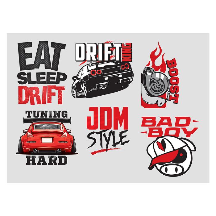 Наклейка на авто JDM