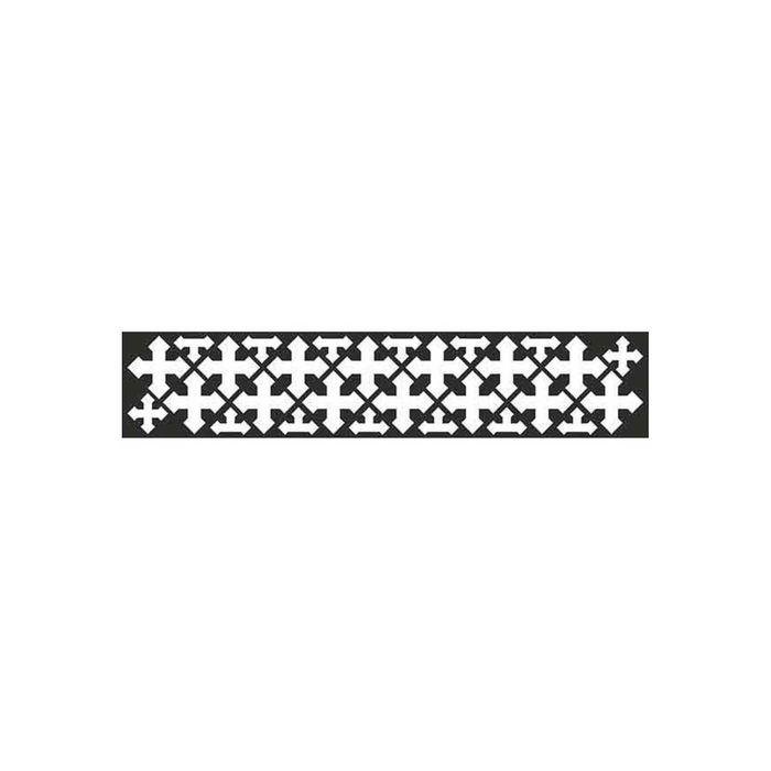 Наклейка светоотражающая SKYWAY Кресты, плоттер, 50х250 см