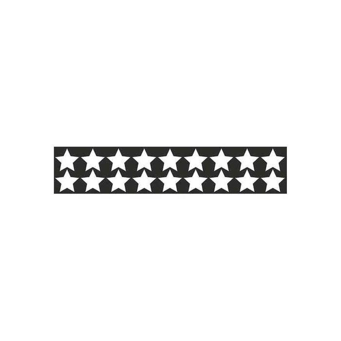 Наклейка светоотражающая SKYWAY Звездочки, плоттер, 50х250 см