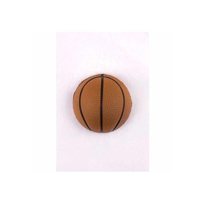 Наклейка на заднее стекло SKYWAY, Разбитое стекло «Мяч баскетбольный» 3D, 110x160 см,черный