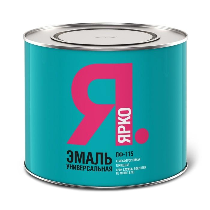 Эмаль ЯРКО ПФ-115 черная, банка 1,9 кг