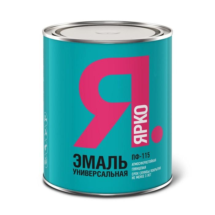 Эмаль ЯРКО ПФ-115 голубая, банка 1,9 кг