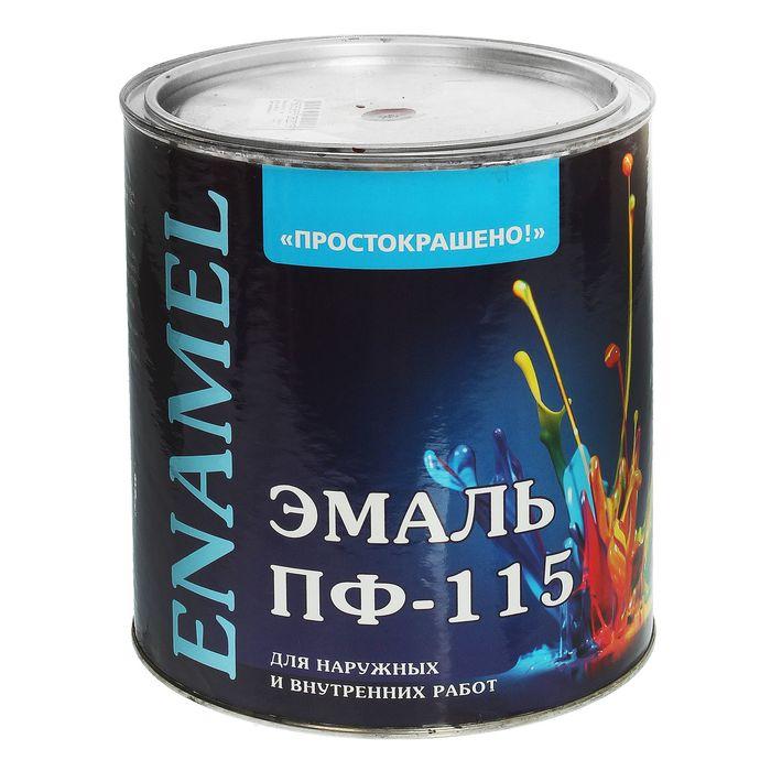 Эмаль ПФ-115 Простокрашено вишневая 2,7 кг