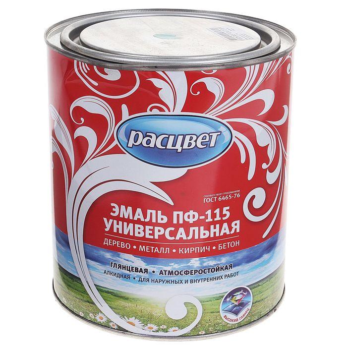 Эмаль Расцвет ПФ-115 морская волна 2,7 кг