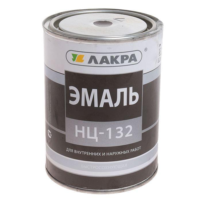 Эмаль НЦ-132  коричневый 0,7 кг