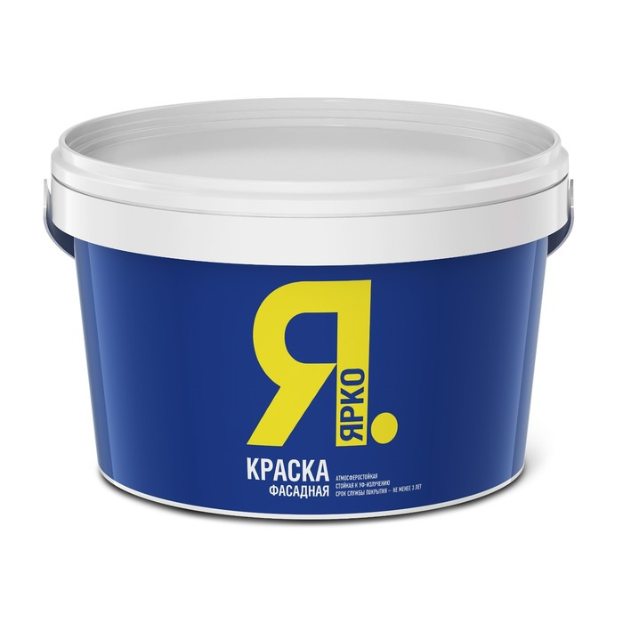 Краска  ЯРКО фасадная 2,5 кг