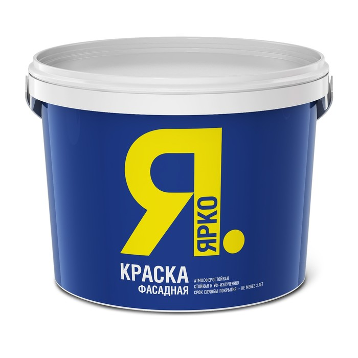 Краска  ЯРКО фасадная 6,0 кг