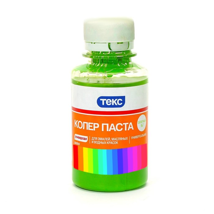 Колер паста УНИВЕРСАЛ №07 салатная ТЕКС 0,5л